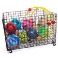 Giant Mobile Storage Basket,PE Equipment Storage Trolley,Playground storage,sports equipment storage,sports equipment storage equipment